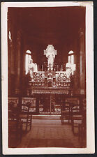 An Alter in Cemetery Chapel - WWI First World War Photograph