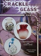 CRACKLE GLASS PRICE GUIDE COLLECTOR'S BOOK H.B. COLOR PICS