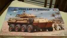 trumpeter 1/35 scale usmc lav-25 piranha model kit NIB sealed