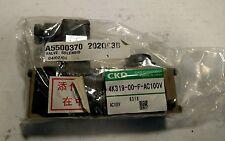 CKD Solenoid Valve 4K319-00-F-AC100V