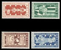 Italy #510-513 MNH CV$77.50 1949 VENICE ART EXPO ex Perfectum