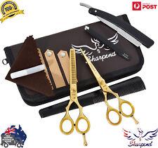 Professional Scissors Barber Salon Shears Hairdressing Set Cutting Thinning 5.5
