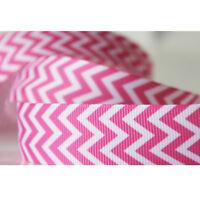 "Hot 7/8""22mm 1/5/10/50/100 yards Printed Grosgrain Ribbon Hair Bow Sewing DIY"
