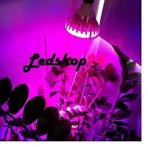 lampada E27 led Grow Crescita Fioritura Piante Serra Vegetali Idroponica 4R-1B**