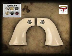 PIETTA 1851 NAVY CAP & BALL BLACKPOWDER MAGNA-TUSK™ 1P IVORY GRIPS