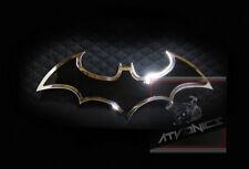 Batman Dark Knight Emblem / Badge - ATV / UTV / Truck Grilles *Gloss Blk/Chrome