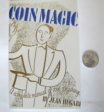Complete Manual of Coin Conjuring Magic Trick Book & Houdini Palming Coin,