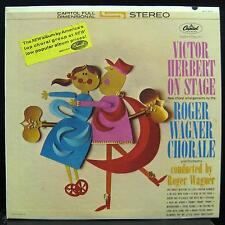 ROGER WAGNER CHORALE victor herbert on stage LP VG+ ST-1707 Rare Stereo Vinyl