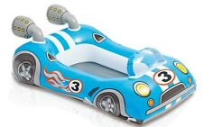 Racing Car Childrens Inflatable Swimming Pool Water Ride On Boat Float TY575