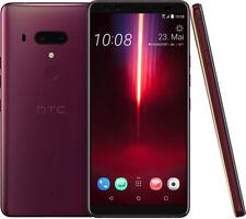 HTC U12+  Dry Rose 64GB Weinrot 15,24 cm (6 Zoll) 16MP 4K Android 8.1 BRANDNEU