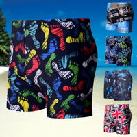 Men Shorts Elastic Waist Trouser Beachwear Swimwear Male Swim Sport Trunks Pants