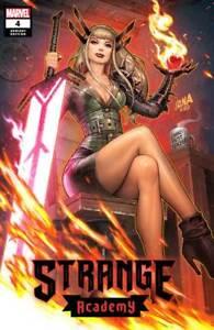 Strange Academy #4 David Nakayama Exclusive TRADE Variant NM