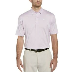 NWT Mens Callaway Party Pink Heather Golf Polo XL