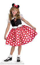 LICENSED MICKEY MOUSE CLUBHOUSE MINNIE MOUSE GIRLS HALLOWEEN COSTUME SMALL 4-6