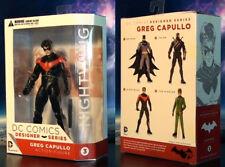 "2014 DC COMICS NEW 52 BATMAN GREG CAPULLO NIGHTWING 6"" ACTION FIGURE MIB"