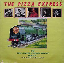 Don Harper, Denny Wright, Al Cohn 'la Pizza Express' - Vinilo Lp; 1980 – en muy buena condición +/en muy buena condición +