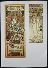 Alfons MUCHA, Offset Lithograph, Agricultural Industrial Exhibit, La Trappistine