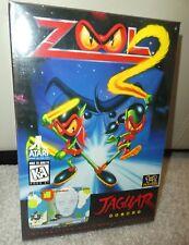 ATARI JAGUAR ZOOL 2 Brand new Sealed Rare video game gremlin