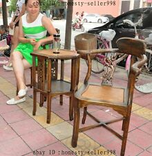 old chinese huanghuali Wood hand-carved Classical Furniture Tables Stool chair