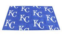 "4' x 6'7"" MLB Kansas City Royals Team Repeat Area Rug"