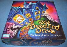 PARKER BROTHERS HASBRO 1313 DEAD END DRIVE Board GAME 2002 Mystery 100% COMPLETE
