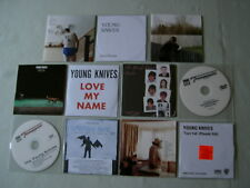 THE YOUNG KNIVES job lot of 11 CD/promo CD/DVD singles Something Awful EP