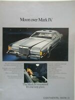 1975 Lincoln Mark IV Lipstick Red Detail Original Print Ad 8.5 x 11/""