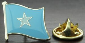 Somalia Flag Pin Badge Brooch Somalian Somali Republic