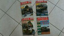 lot 4 magazines HISTOIRE DE GUERRE-blindes materiels-char-bagration-port gratuit