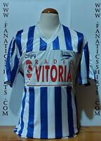 #12 Deportivo Alaves 1994-1995 Ascenso Copy Camiseta Futbol Shirt Trikot Maglia