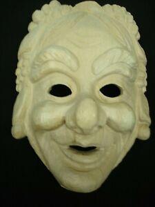Maskenrohling Mädchen mit Trauben  Nr.4809 , Fasnet, Rohling, Holzmaske Larve,