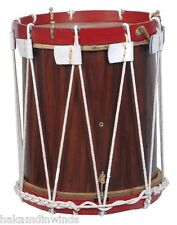 "Military Heritage Drum Rope Tension Snare Renaissance 14"" x 12"" calf skin heads"