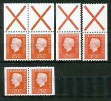Nederland Stockkaart Combinaties uit Postzegelboekjes 9 Postfris