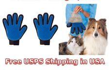 2 PIECES : Cat & Dog deshedding Pet Grooming brush Glove  - USA SELLER -