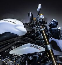 Lightech Tank cubierta Tank cover de carbono Triumph Speed Triple 1050 11-15