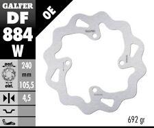 DISQUE DE FREIN GALFER Wave Rigide df884w 239 x 4,5 mm Arrière Moto