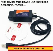 FORD ELM327 MODIFICADO KUGA FOCUS MONDEO USB ELMCONFIG FORSCAN FOCCUS