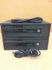 LOT OF 2 Hp Prodesk 600 G1 i5 4570 3.2Ghz Computer Quantity Available FREE SHIP