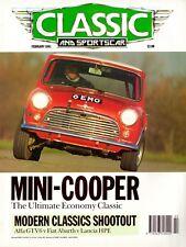 Classic & Sportscar 02/1991, u.a. Mini Cooper, Alfa GTV6, Lancia HPE, Abarth 205