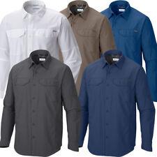 "New Mens Columbia ""Silver Ridge"" Vented Omni-Wick Long Sleeve Shirt Big&Tall"