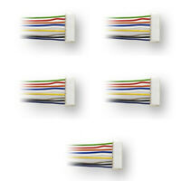 Digitrax  DHWH 9 pin to wires wire harnesses (5) Pack HO Scale