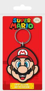 Super Mario - Mario Rubber Keychain   Gaming Merchandise   Nintendo