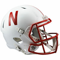 NEBRASKA CONRHUSKERS RIDDELL SPEED FULL SIZE REPLICA FOOTBALL HELMET