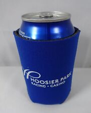 Hoosier Park Indiana Grand Racing Casino Blue Can Cooler Coozie Horse Racing