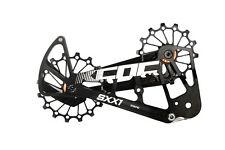 KCNC SXX1 Mountain Bicycle Bike Oversized Pulley OSPW for Sram Eagle XX1 Black