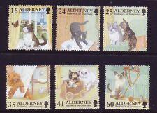 Alderney 1996. Cats  SG A89/94 MNH