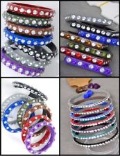 wholesale lot of 96 PCS Acrylic with Rhinestone bracelets , bangle