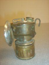 Justrite Carbide Miner's Lamp