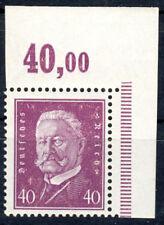 Deutsche Reich xx Nr. 418 POR - Hindenburg - Reichspräsidenten rechter OBERRAND