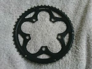 Used 'Shimano' 50T Outer Chainring 5 Arm. 110mm BCD. Alloy.